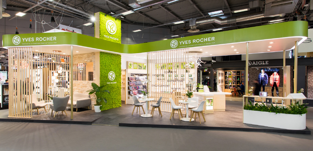 Yves rocher au salon de la franchise 2017 workshop - Salon de la franchise date ...